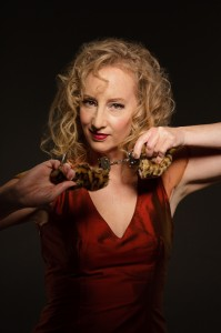 Debbie Bridge gives you the eloquence with the romp, humour and charm of cabaret.